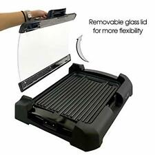 Smokeless Indoor Electric Grill POWER 1700 Watts XL Non-Stick BBQ AS SEEN ON TV