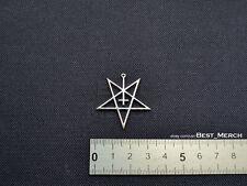 Dark Funeral Necklace stainless steel Pentagram Pendant merch logo symbol