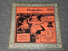 Prokofiev Sute from The Love For Three Oranges~Roger Desormiere~Capitol P-8149