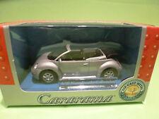 CARARAMA 1:43  - VW NEW BEETLE CABRIOLET  - GOOD CONDITION   IN ORGINAL BOX