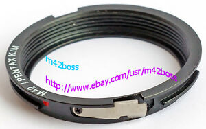 FLANGED M42 LENS TO PENTAX K MOUNT ADAPTER TO INFINITY BRAND NEW (1 pcs.)