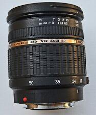 Tamron Aspherical LD XR Di II SP AF 17-50mm A16 Zoom Lens Sony Alpha Mount Hood
