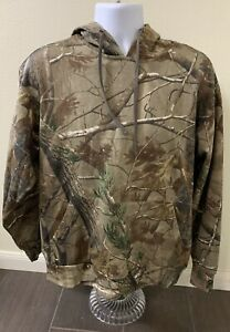 Game Winner Drawstring Hoodie Pullover Camouflage Hunting Size Medium