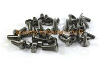 Complete Honda CBR CBR600RR 2007-08 Stainless Steel Fairing Bolt Bolts Only Kit