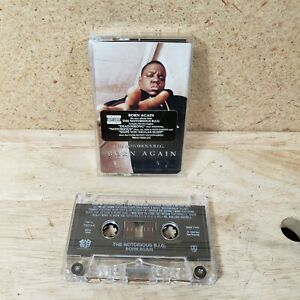 Born Again by The Notorious B.I.G. Cassette 2005 USA Bad Boy PA