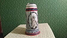 STROHS STATUE OF LIBERTY STEIN - 1986