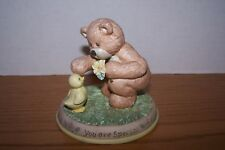 """Gund """" You Are Special """" Bear and Duck Figure NIB """" Thinking of You """""""
