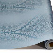 Grandeco Kismet Damask Pattern Wallpaper Metallic Glitter Motif Art Deco Roll TE