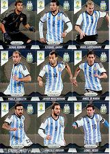 2014 Brasil FIFA World Cup Soccer Prism Card Base Team Set Argentina (10)