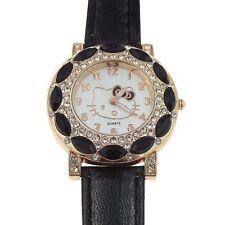 Reloj HELLO KITTY  watch Negro y Dorado, muy elegante, Precioso  A1128