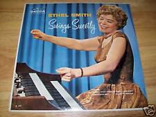 Ethel Smith Swings Sweetly DL 4095 DECCA Lp NEAR MINT FREE US SHIPPING