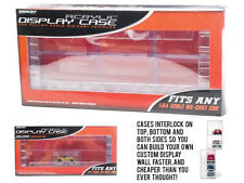 CONNECTING ACRYLIC DISPLAY CASE FOR 6,1/64 MODEL CARS BY GREENLIGHT 55011