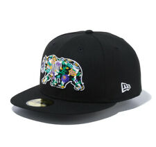 New Era 59Fifty Cap Day of the Dead Bear Black New