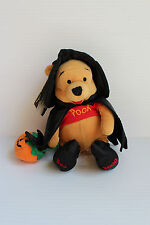 "2000 WINNIE THE POOH Mini Beanbag Witch Halloween NWT collectible toy ""BOO"""