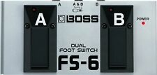 BOSS FS-6 Dual Footswitch New F/S