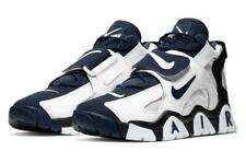 Nike Men's Air Barrage Mid (White/Midnight Navy) Shoes AT7847-101