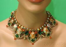 Juliana (D & E) Easter Egg Demi Parure Necklace Earrings