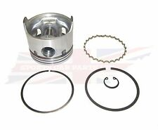 New Set of 6 Pistons w Rings  Piston Set  + .020 for Triumph TR250 TR6 1968-1976