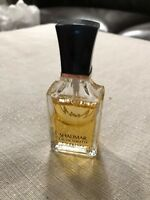 Vintage Guerlain Shalimar 0.5oz 15ml 1/2oz Eau de Toilette Fragrance Travel