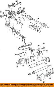 CHRYSLER OEM Rear Differential-Pin 6503827
