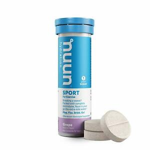 Nuun Active: Grape Electrolyte Enhanced Hydration Tablets ( of 10 Tabs)