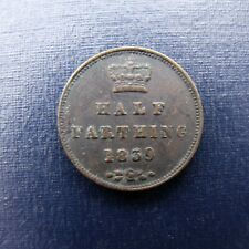 More details for 1839 victoria half farthing recieve the coin pictured free uk p&p