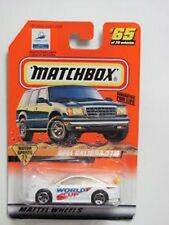1998 Matchbox Motor Sports FIFA World Cup France 98 Opel Calibra DTM NIB Mattel