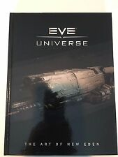EVE Universe The Art of New Eden Deluxe Hardcover Book CCP DUST 514 concept art