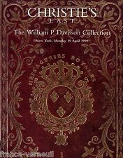 Christie's catalogue The William P. Davisson Collection Transportation in France