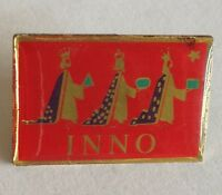 INNO Three Kings Christmas Religious Pin Badge Rare Vintage Gift Ornament (F3)