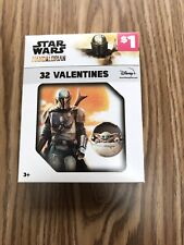 Star Wars The Mandelorian 32 Valentines Sealed In Box