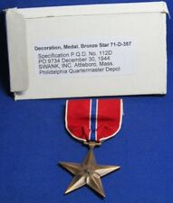 WWII 1944 Bronze Star Medal With Original Box by Swank GREAT SHAPE
