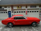 1965 Ford Mustang  1965 MUSTANG COUPE......SHINNY RED PAINT.....NEW INTERIOR....LIKE NEW TIRES