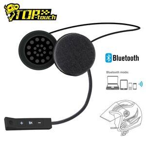 Motorcycle Helmet Headset Wireless Bluetooth 5.0 Headphone Speaker Hands-Free US