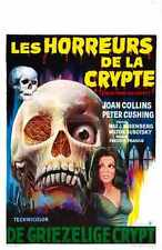 Tales from the crypt 1972 POSTER 03 A2 Box Toile imprimer