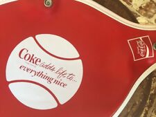 "Coca-cola Coke ""adds life to everything nice"" Tennis Racquet Cover w/Zipper Nice"