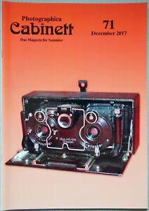 Photographica Cabinett 71 Stereo Polaroid Liesegang J.P.A. Kaiser SVE Linex