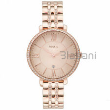 Fossil Original ES3546 Women's Jacqueline Rose Gold Stainless Steel Watch 36mm