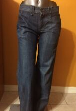 Rogan Blue Jeans  100 % Cotton Flare Size 26