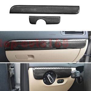 ABS Carbon Fiber Dashboard Center Console Stripe Cover Trim For VW Jetta 2011-18