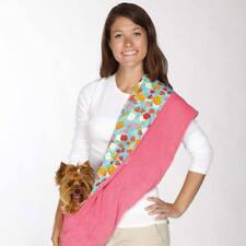 Zack & Zoey Fruit Frenzy Print Reversible Sling Pet Dog Cat Hands Free Carrier