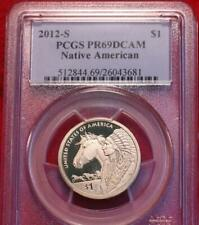Uncirculated 2012-S Sacagawea Native American Dollar PCGS PR69DCAM