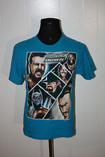 2012 WWF WWE Smack Down The Undertaker Teal Tee Shirt Youth XL