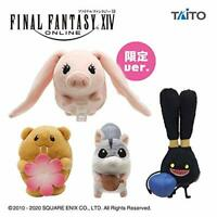 FF Final Fantasy XIV minion Mascot 4 set Plush Doll Stuffed toy TAITO JAPAN 2020