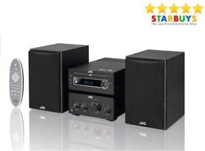 JVC UX-D750 100W Micro Stereo Hi-Fi System CD Player DAB FM Radio NFC Bluetooth