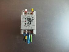 OMRON S82K-01524 100-240VAC INPUT 24VDC 0.6A OUTPUT POWER SUPPLY