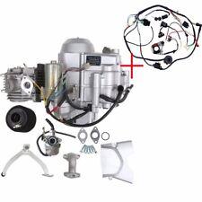 125CC SEMI AUTO ENGINE MOTOR 3 SPEED W/ REVERSE 3+1 + Full Wire Harness Quad ATV