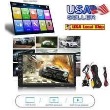7 Inch DOUBLE 2DIN Car MP5 Player BT Tou+ch Screen Stereo Radio HD+Camera USA