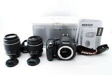 PENTAX K-50 + WR Lens Set (18-55mm 50-200mm) numero 2753 Shot [eccellente +++] 958A
