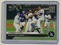 1 LA DODGERS 2020 WORLD SERIES CHAMPIONS Topps Now Card #482 - 1 of 2687